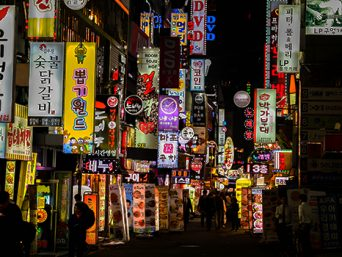 Nightlife in Korea